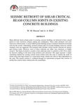 Seismic retrofit of shear critical beam-column joints in existing concrete buildings